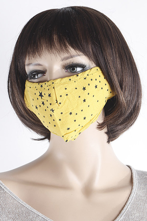 Star Printed Face Mask