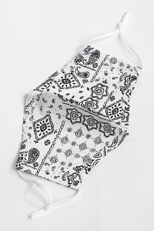 Paisley Patterned Face Mask