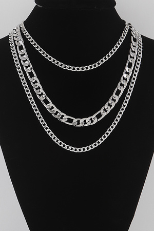 Simple Multi Chain Necklace