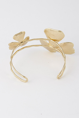 Flower Open Cut Bracelet 8HAE6