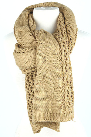 Two Way Knitted Vest Scarf 4LAB