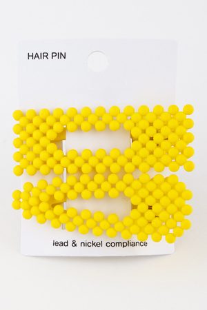 Candy cutout hair pin 9FBB6