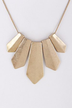Egypt Style Metallic Necklace 8HAE8