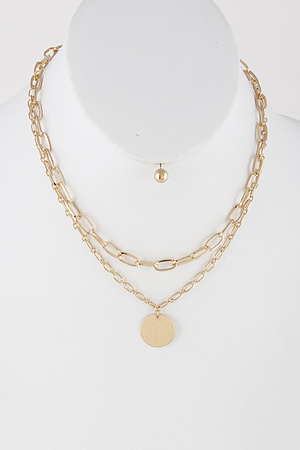 Gold Chain Necklace 9DBA4