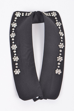 Cute Bow Tie With Rhinestone Details