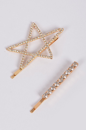 Luminous Star Hairpin Set