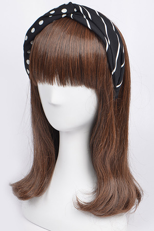 Shaped Contrast Headband
