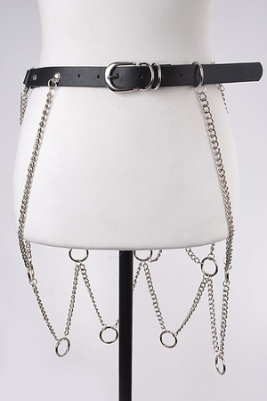 Chain Skirt Belt.