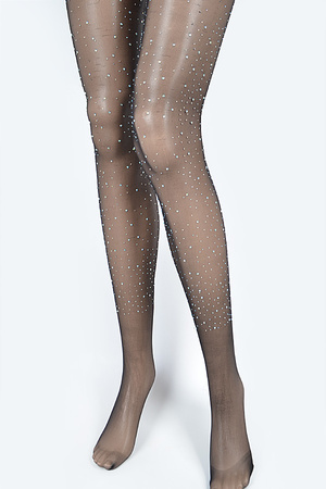 Rhinestone Stocking