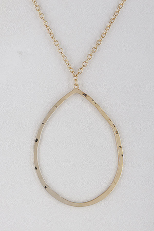 Old Fashioned Tear Drop Necklace 9DBA5