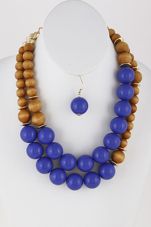 Statement Beaded Necklace 9DAC10