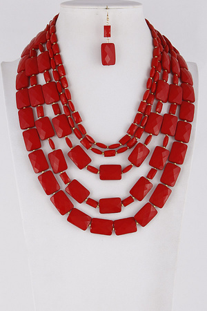 Mixed Layered Necklace 9ACC3