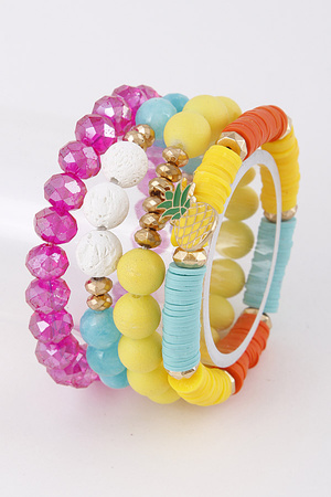 Tropical Colorful Bracelet Set 9ACE10