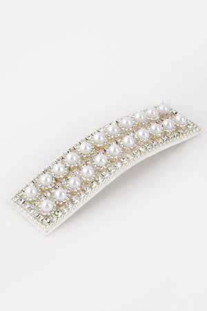 Pearl Rectangle Hairpin 9GCA6