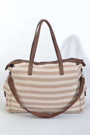 Your Day To Day Stripe Hand Bag