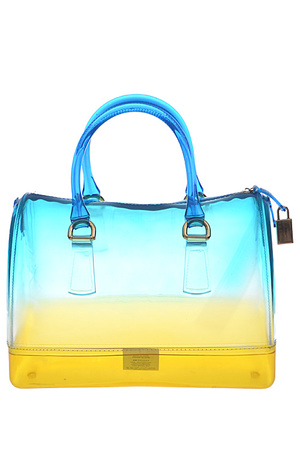 Gradient Colored Jelly Tote Bag